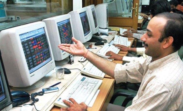 Sensex jumps 360 points- crosses 38000 point mark - Sakshi