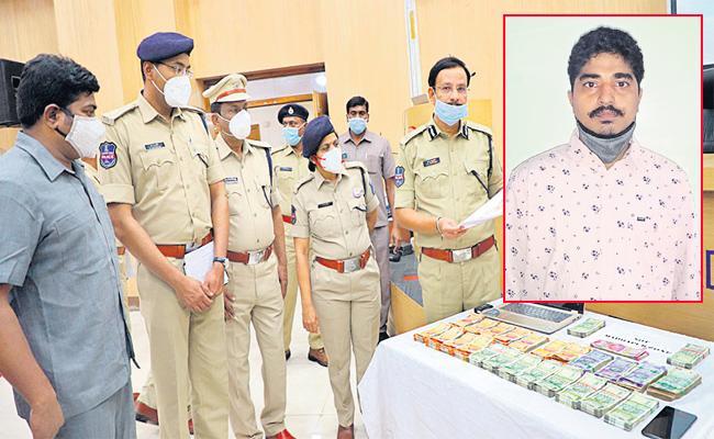 TV Channel Chairman Held in Double Bedroom Scheme Hyderabad - Sakshi