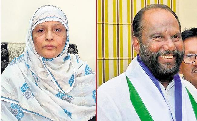 Zakia Khanam and Ravindra Babu as Governor Quota MLCs - Sakshi