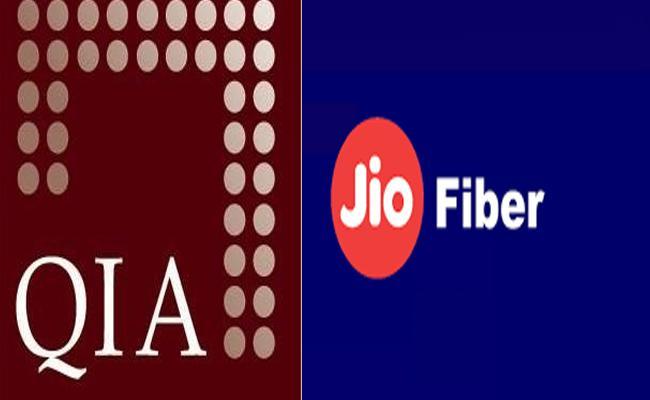 Qatar sovereign wealth fund eyes stake in Reliance JioFiber - Sakshi