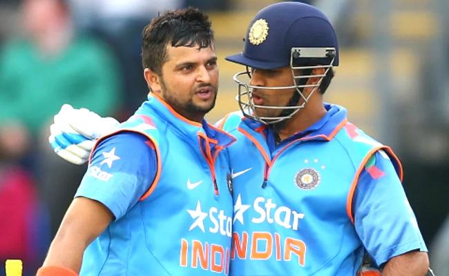 Suresh Raina Names Rohit Sharma As Next MS Dhoni Of Team India - Sakshi