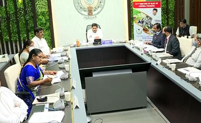 State Level Bankers Committee Meeting Chaired By YS Jagan In Tadepalli - Sakshi