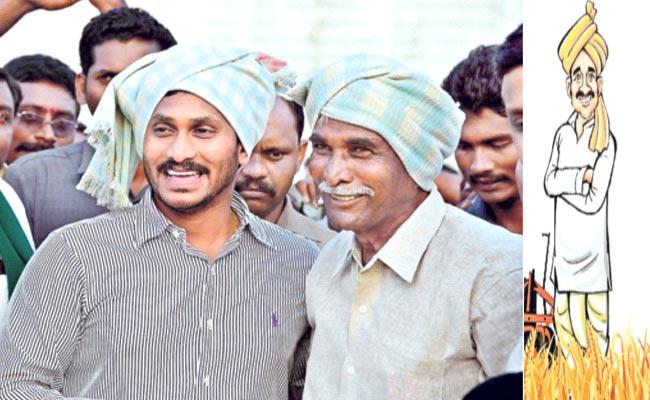 Government Support Farmers With Free Crop Insurance Scheme - Sakshi
