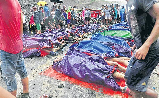 162 Members Died Due To Landslide At Myanmar - Sakshi