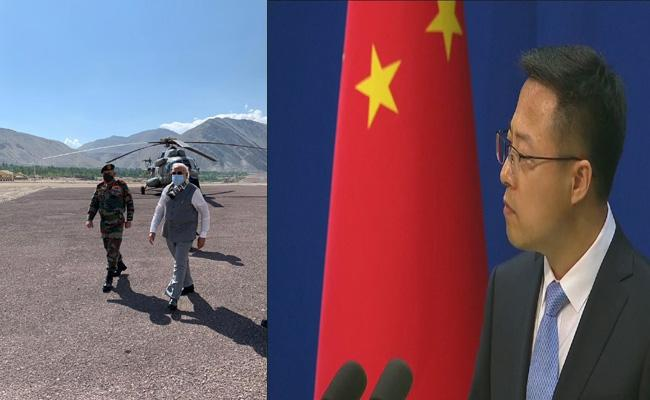 China Condemns Narendra Modi Ladakh Visit - Sakshi