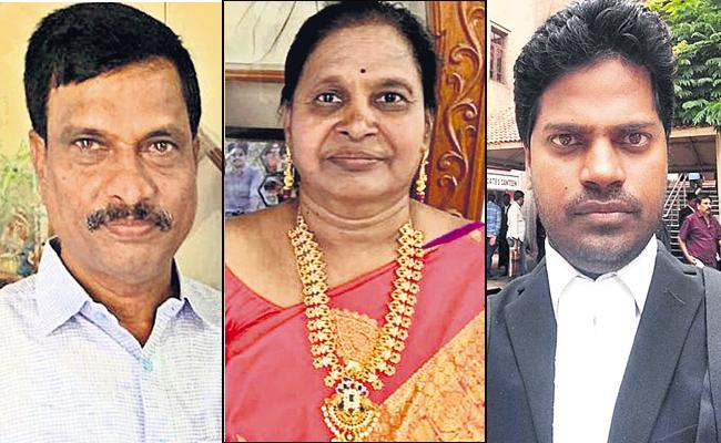 Three People deceased with Covid from the same family - Sakshi