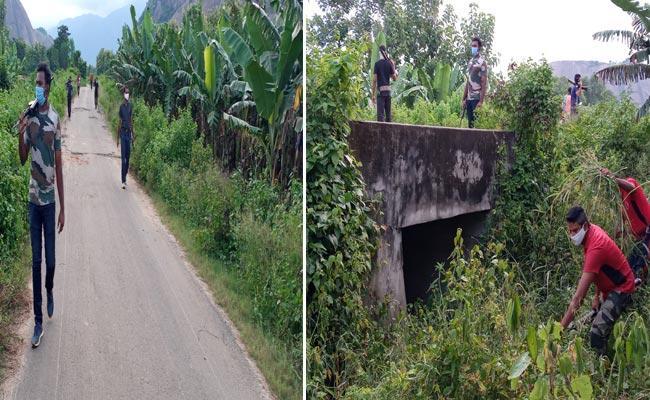 Police Kumbing In Odisha Andhra Pradesh Border - Sakshi