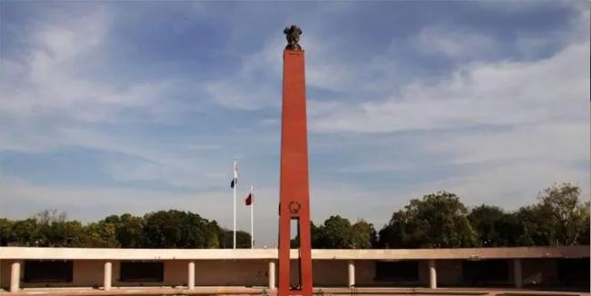Galwan Valley Killed Army Personnel Inscribed on National War Memorial - Sakshi