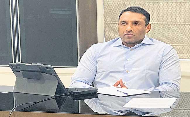 Mekapati Goutham Reddy Joins Meeting With Amazon Company - Sakshi