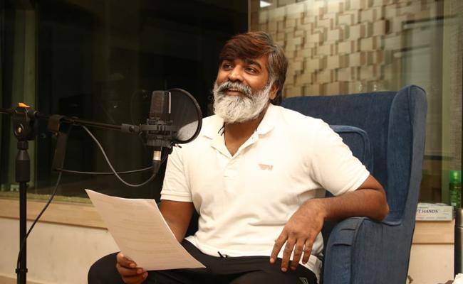 Vijay Sethupathi starts Dubbing For Labham Movie - Sakshi