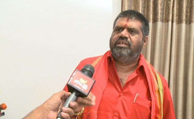 Avanthi Srinivas Comments On Chandrababu About CRDA Bill In Vijayawada - Sakshi