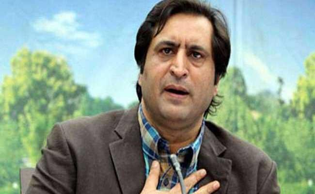 Conference leader Sajad Lone released from house detention - Sakshi