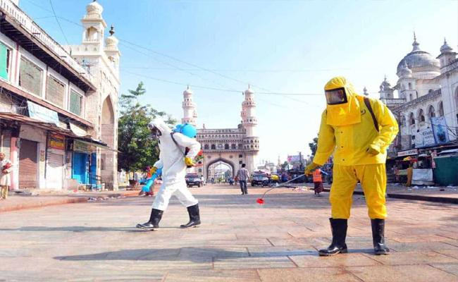 Coronavirus Positive Cases Rising In Hyderabad Day By Day - Sakshi