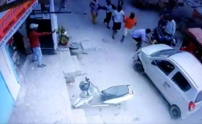 Delhi Police Officer Hits Woman With A Car  - Sakshi