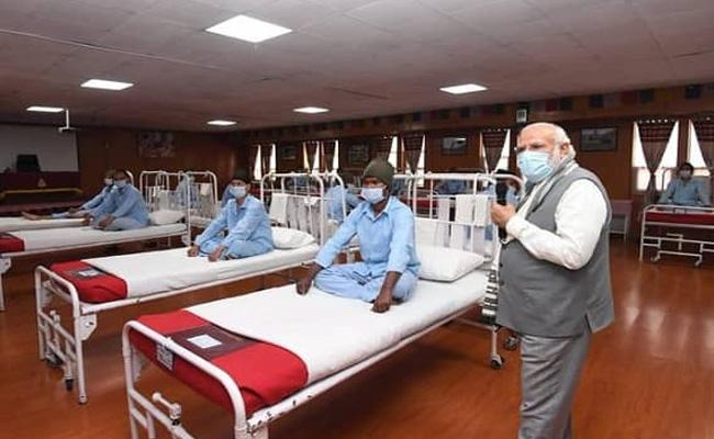 Indian Army answer to those who questioned Army Hospital in Leh - Sakshi