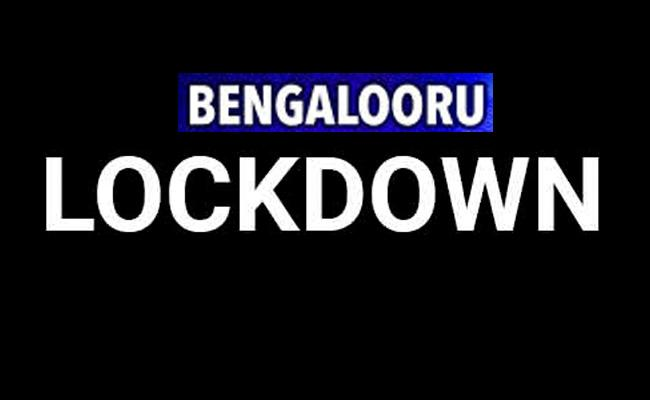 Karnataka announces 33-hours long lockdown in Bengaluru - Sakshi