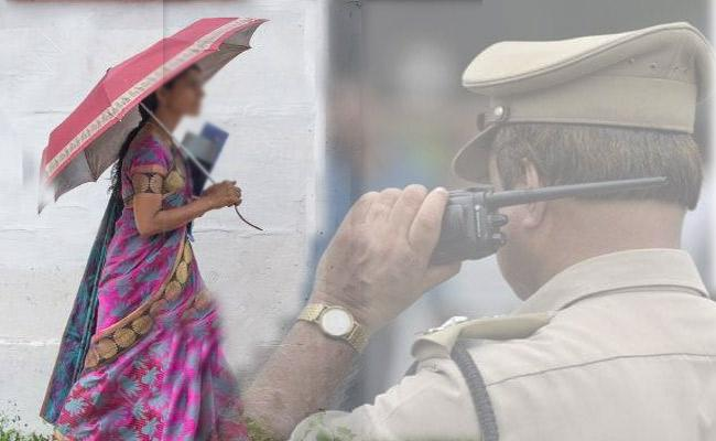 Karnataka Police Wife Walk 6 km For Given Lunch Box to Husband - Sakshi
