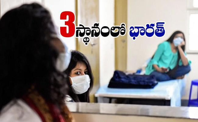 India Overtakes Russia Become Third Worst Hit Nation In Coronavirus Tally - Sakshi