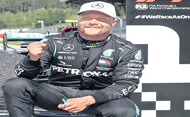 Mercedes Driver Valtteri Bottas Won The First Race Of The 2020 Season - Sakshi