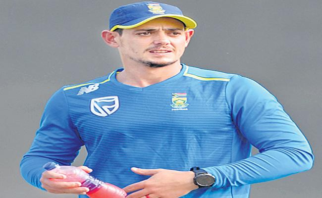 South Africa Cricketer Of The Year Is Quinton De Kock - Sakshi