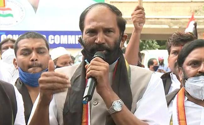 Uttam Kumar Reddy Said Government Should Bear The Burden Of Electricity Bills - Sakshi