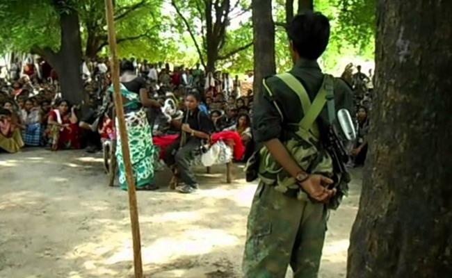 Janashakthi Maoists Held in Rajanna Sircilla - Sakshi