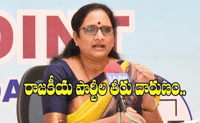 AP Women Commission Chairperson Vasireddy Padma Fires On TDP - Sakshi
