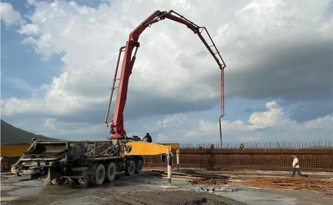 Polavaram Project: Spillway Work Almost Completed - Sakshi
