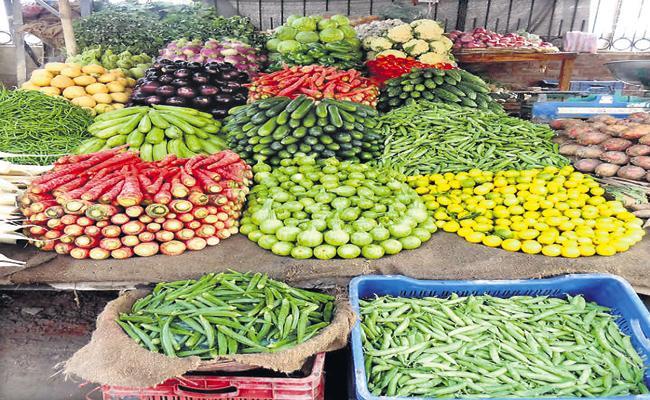 36 lakh tonnes of vegetable production target - Sakshi