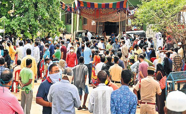 Coronavirus Positive Cases Super Spread in GHMC And Rangareddy - Sakshi