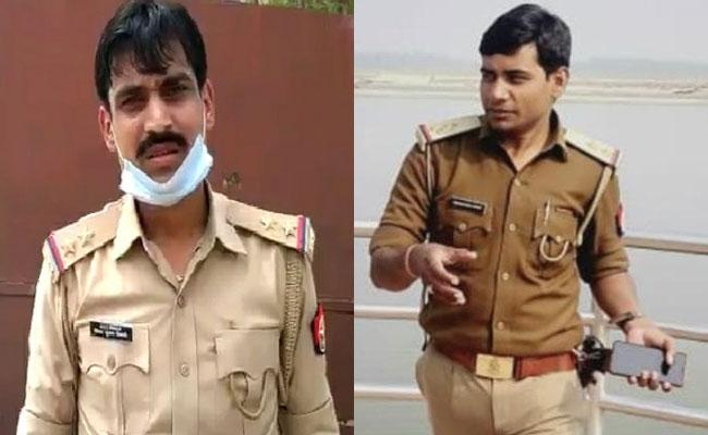 Vinay Tiwari And Another Policeman Were Arrested In Vikas Dubey Case - Sakshi