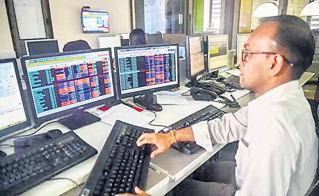 Sensex and Nifty Post First Weekly Loss In Seven - Sakshi