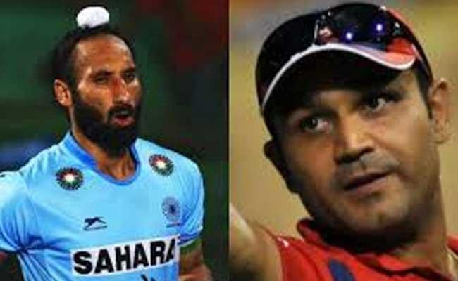 Virendra Sehwag And Sardar Singh In The National Sports Awards Committee - Sakshi