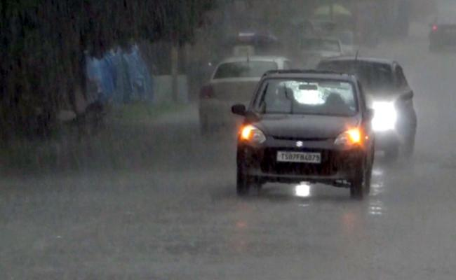Heavy Rain In Hyderabad - Sakshi