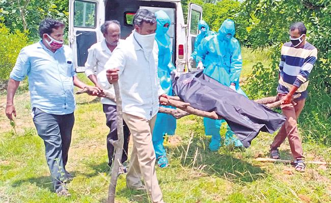 Pregnant Woman Deceased With COVID 19 Rangareddy - Sakshi