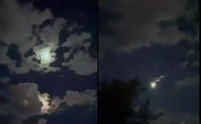 Stunning Video Of Meteor From Mexico Became Viral In Internet - Sakshi