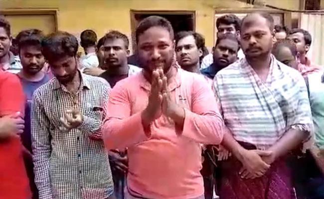 Telugu People Suffering In Kuwait Due To Lockdown - Sakshi