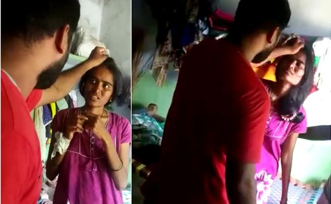 Name Of Exorcism Condition Of Woman Is Alarming In Mancherial - Sakshi