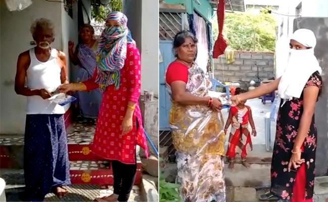 Pensions Distribution Began In Andhra Pradesh - Sakshi