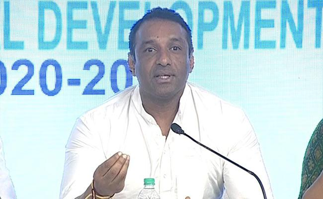 Minister Mekapati Goutham Reddy Speech On New Industrial Policy - Sakshi