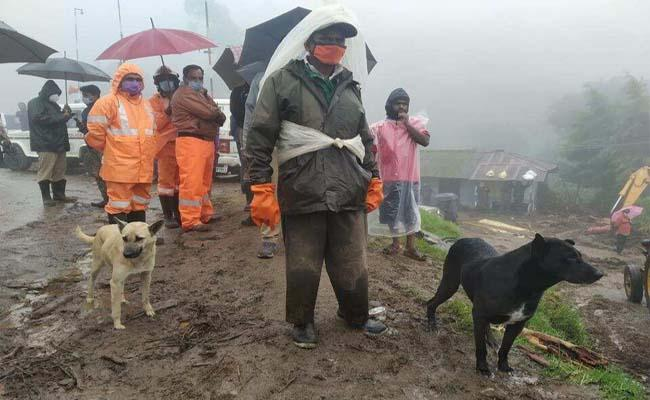 Pets Unending Wait For Their Masters At Kerala Landslide Site - Sakshi