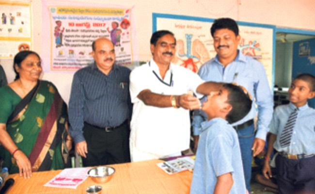 Worm Prevention Day Special Story - Sakshi