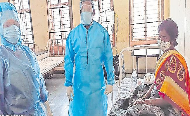 COVID 19 Positive Pregnant Aasha Worker in Rangareddy - Sakshi