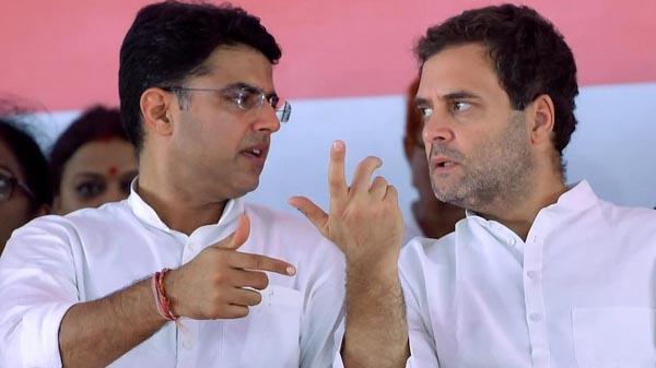 Sachin Pilot Meets Rahul Gandhi Lists Three Demands - Sakshi
