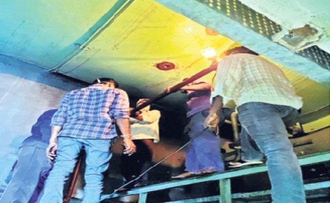 Hydrogen Leakage In KTPS At Khammam District - Sakshi