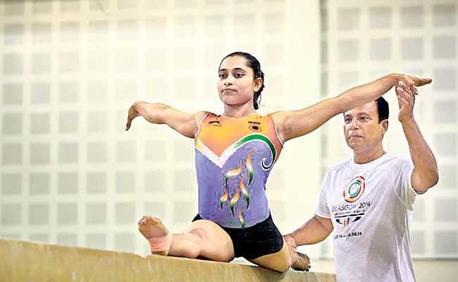 Dipa Karmakar Started Practice Session After Five Months - Sakshi