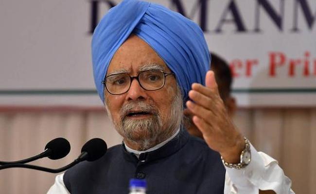 COVID-19 crisis Manmohan Singh offers advice to Modi govt - Sakshi