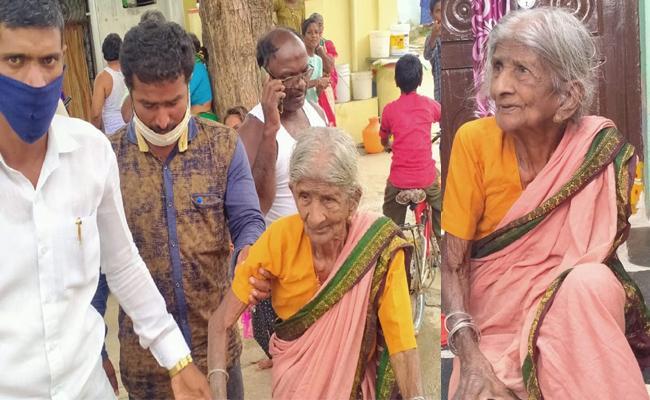 Three Sons Leave Mother on Road in Mahabubnagar - Sakshi