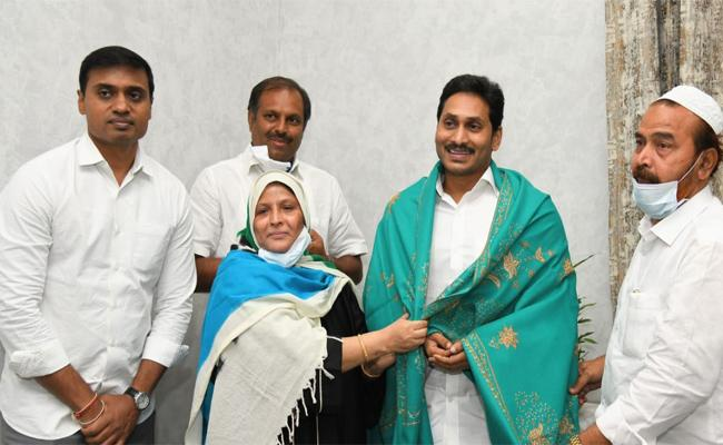 MLC Jakia Khanam Thanks to YS Jagan Mohan Reddy - Sakshi