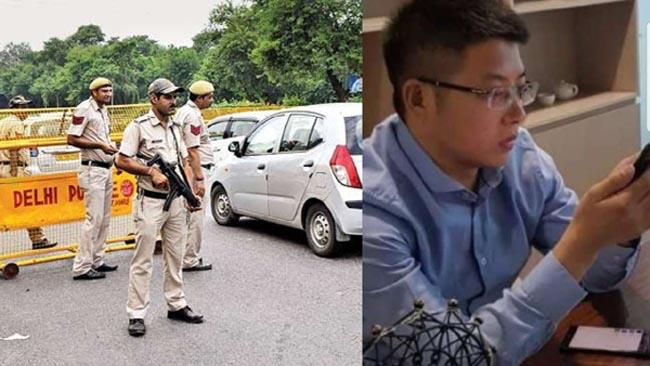 Chinese National Arrested In A Raid By The Income Tax Department - Sakshi